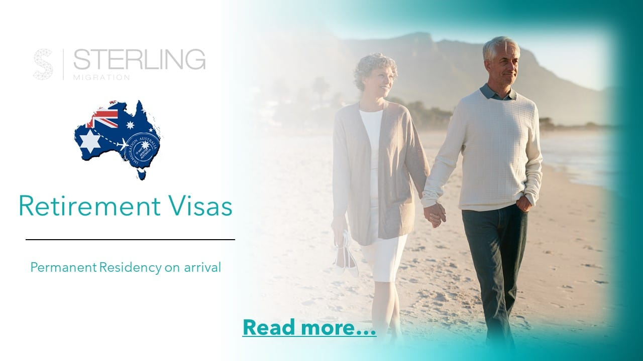 Australia Retirement visa read more