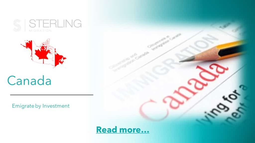 Emigrate to Canada read more