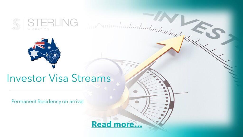 Australia Investor visas read more