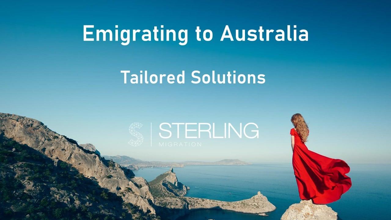 Emigrate to Australia options