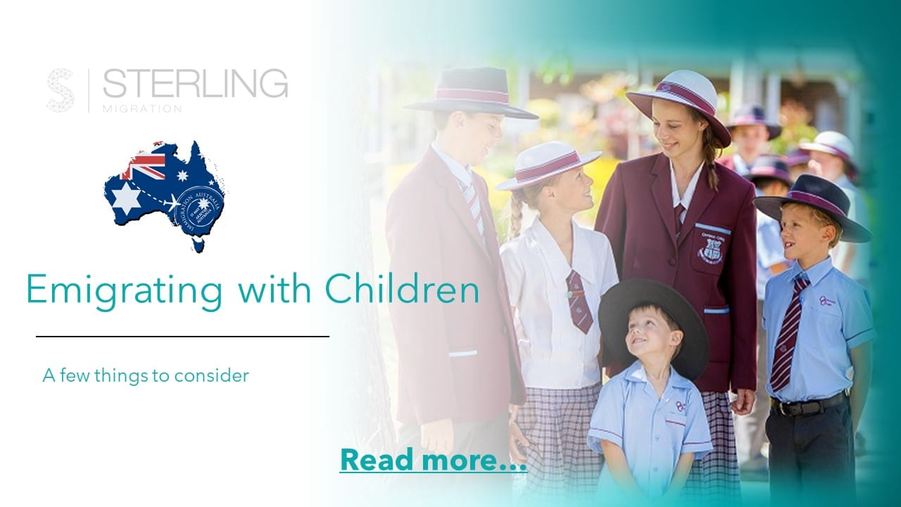 Emigrating to Australia with Children read more