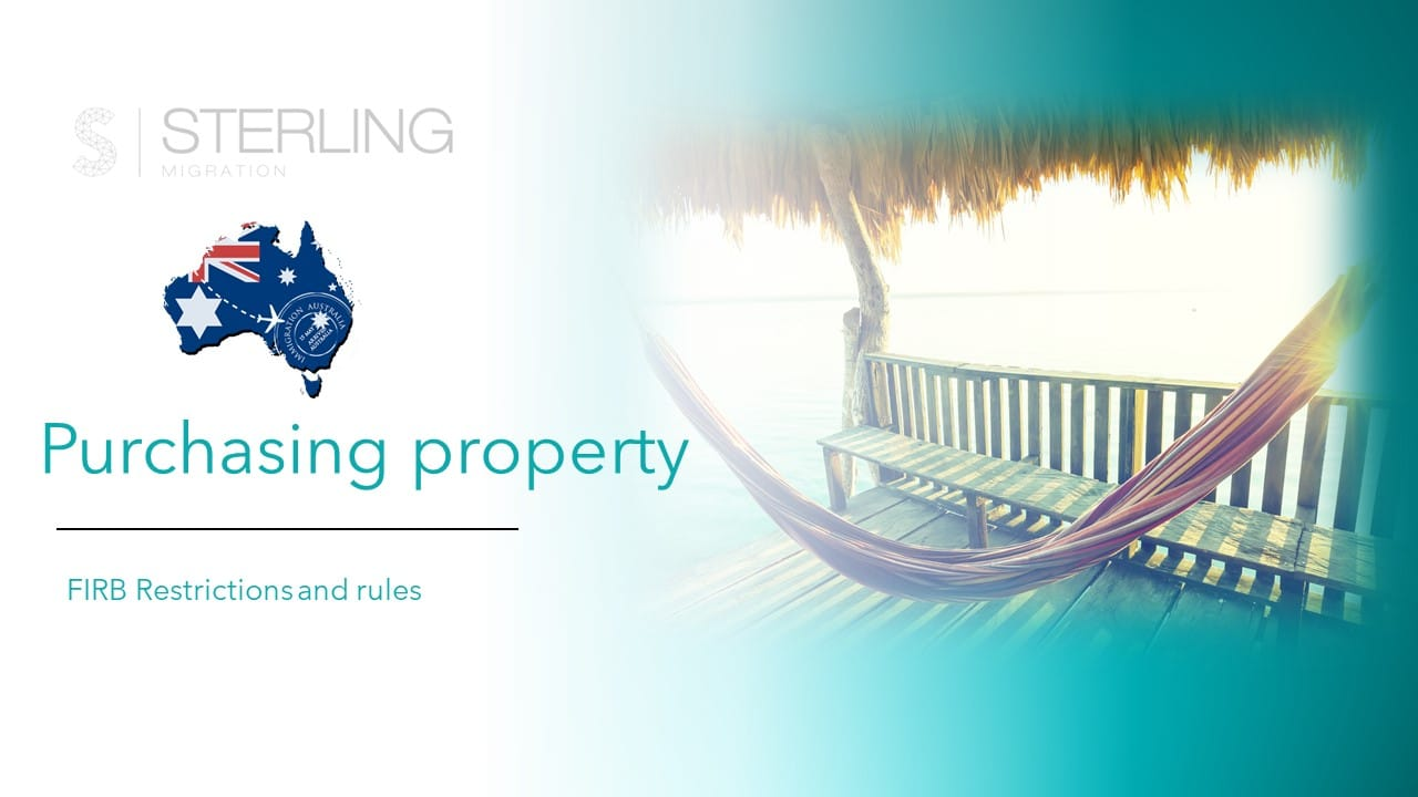 FIRB rules on purchasing property in Australia