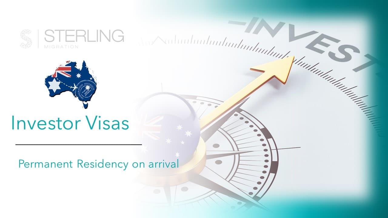 Australia Investor visas