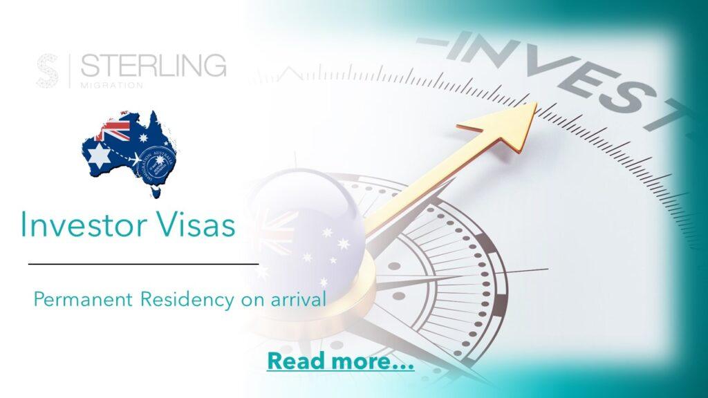 Australian investor visas read more