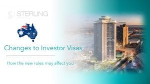 Changes to Australian investor visas