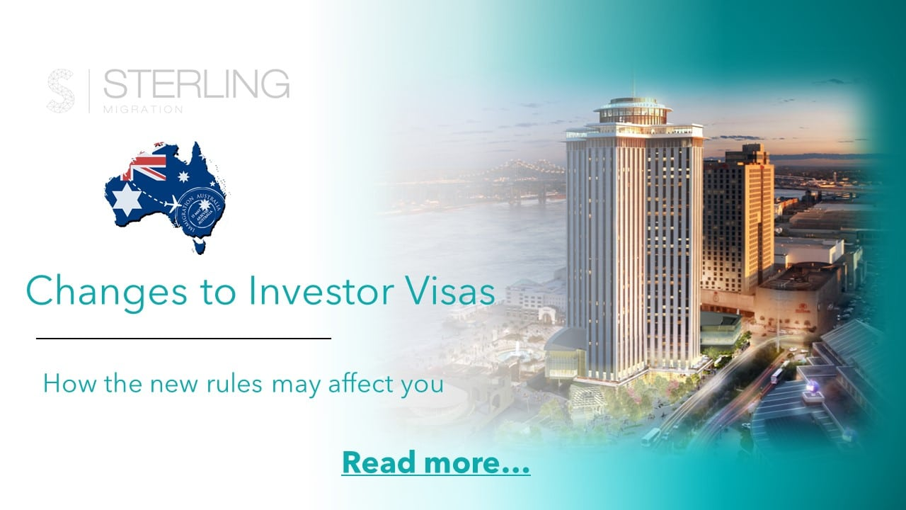 Changes to Australian investor visas read more