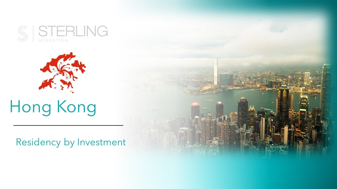 Hong Kong Residency by Investment