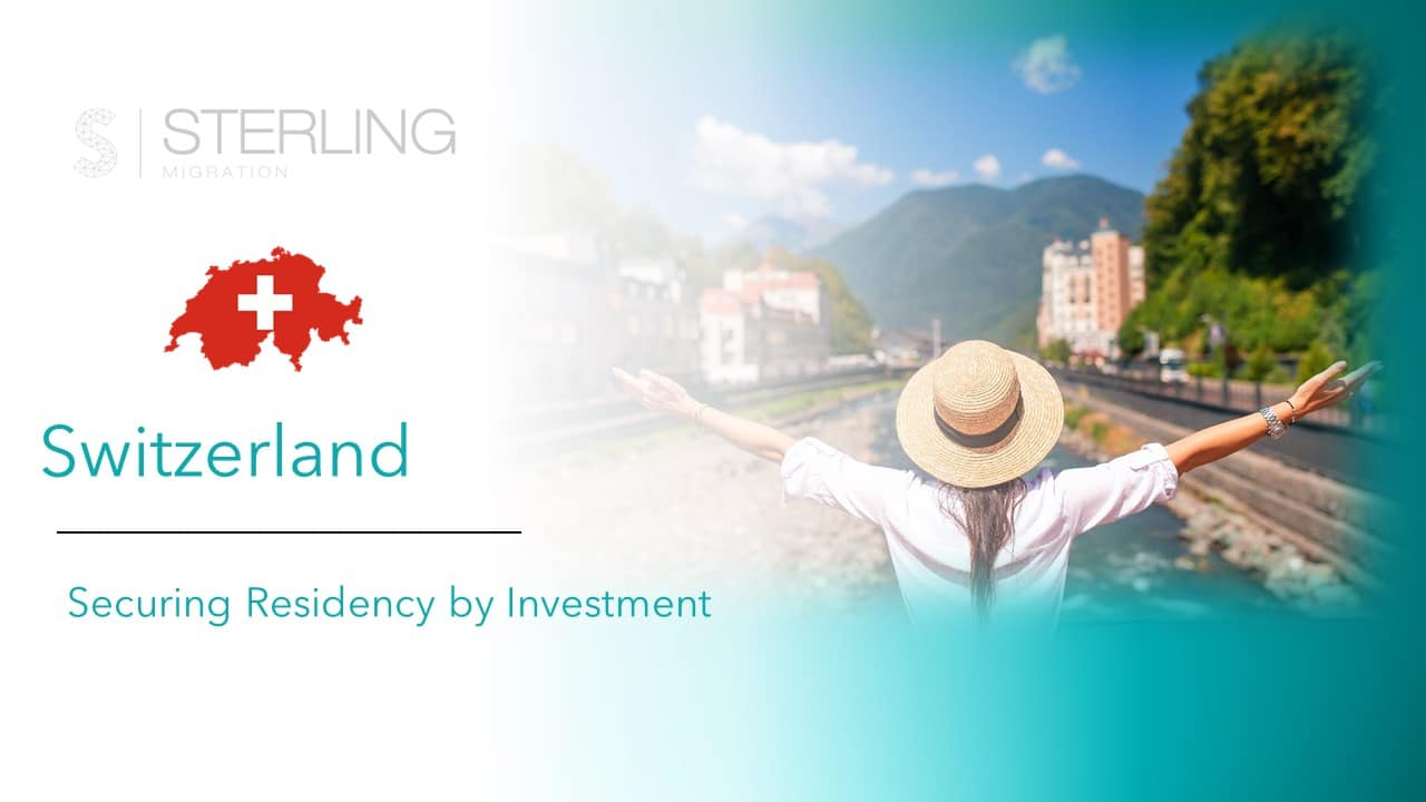 Switzerland Residency by Investment