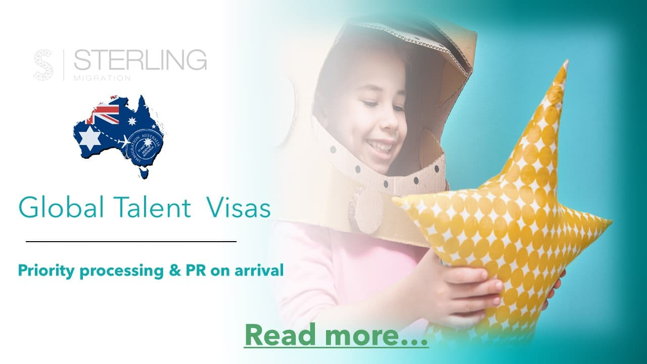Australian Global Talent Visas read more